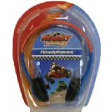 Little Star Roary the Racing Car Childrens Headphones with reduced volume